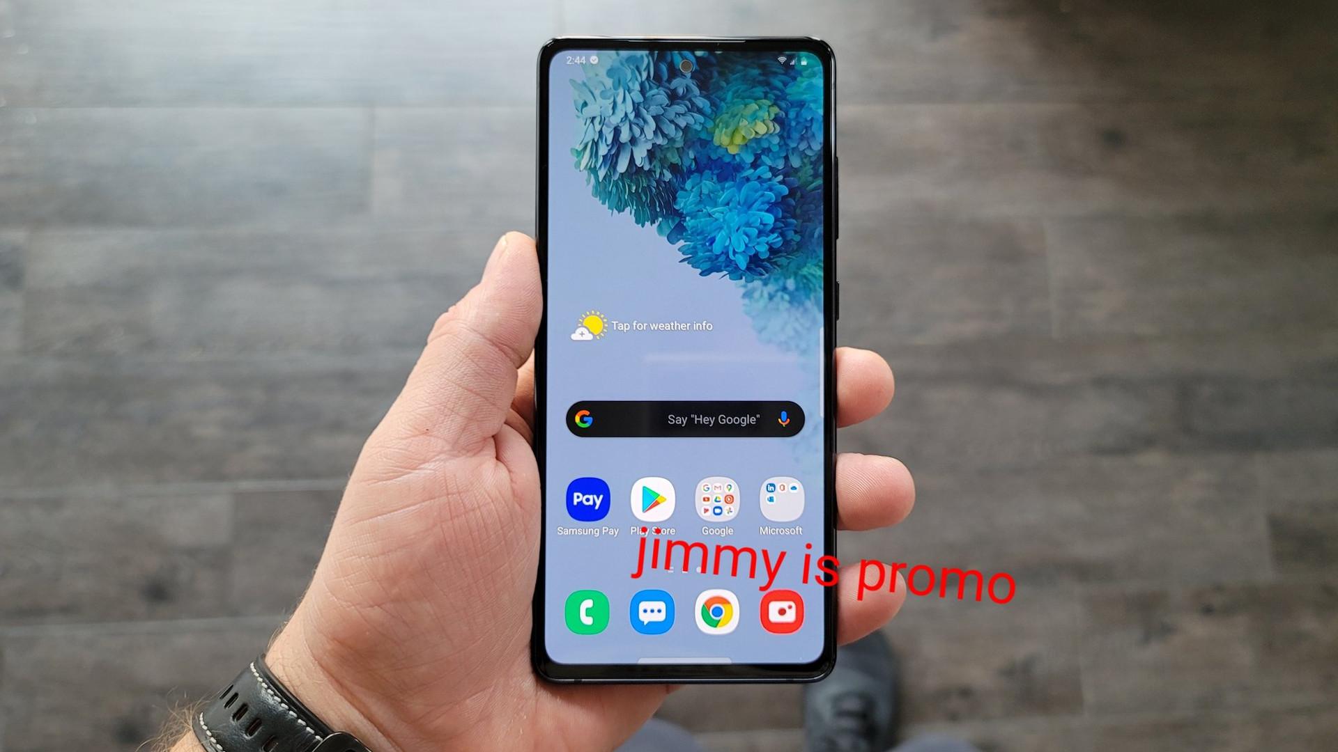 Samsung Galaxy S20 FE jimmy is promo