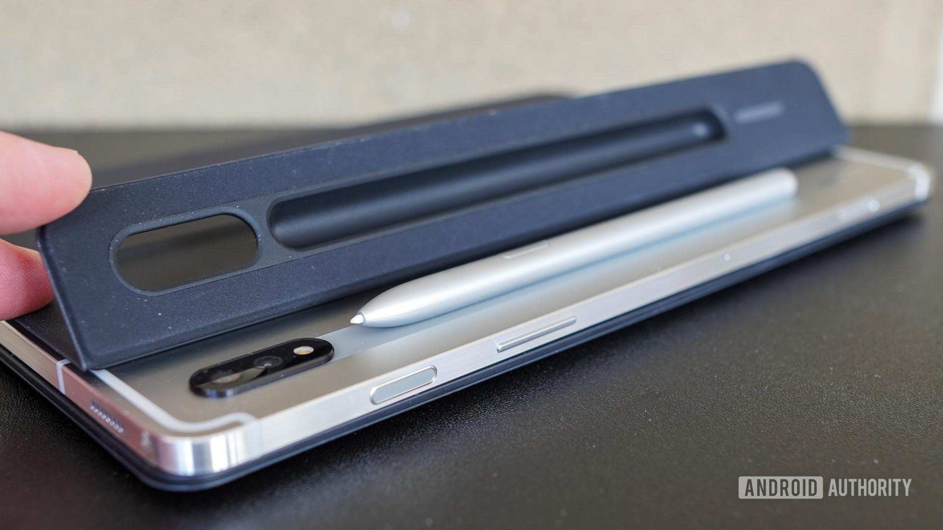 Samsung Galaxy Tab S7 S Pen flap