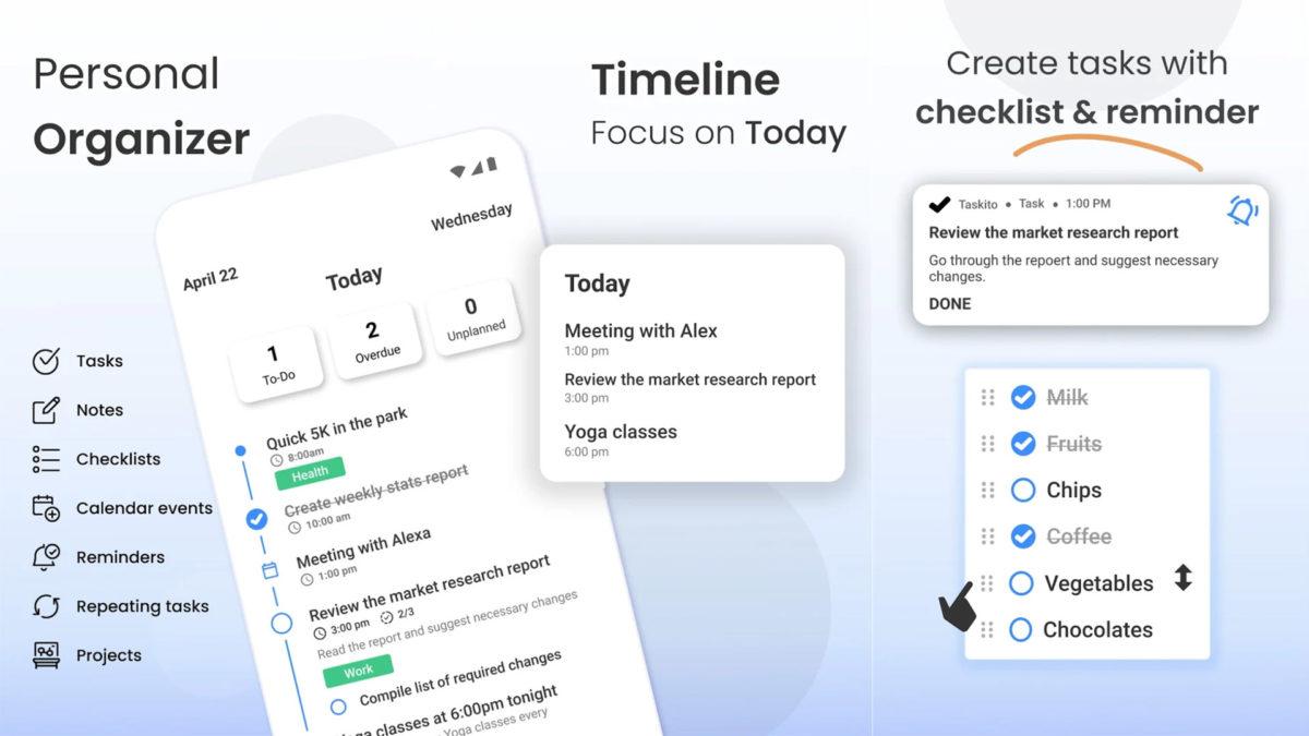 Screenshot Taskito 2021