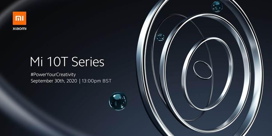 Xiaomi Mi 10T series invite