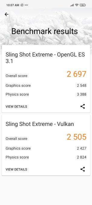 Xiaomi Poco X3 NFC 3DMark