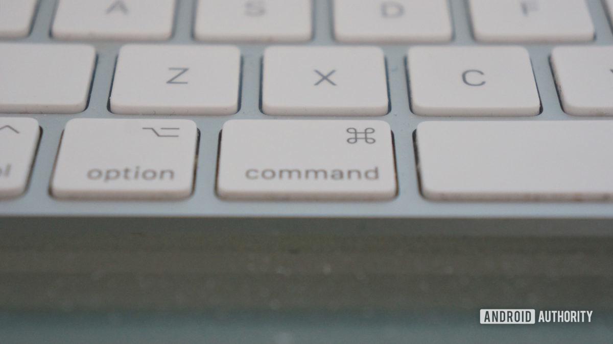 Apple Magic Keyboard Command Key Copy Paste Mac