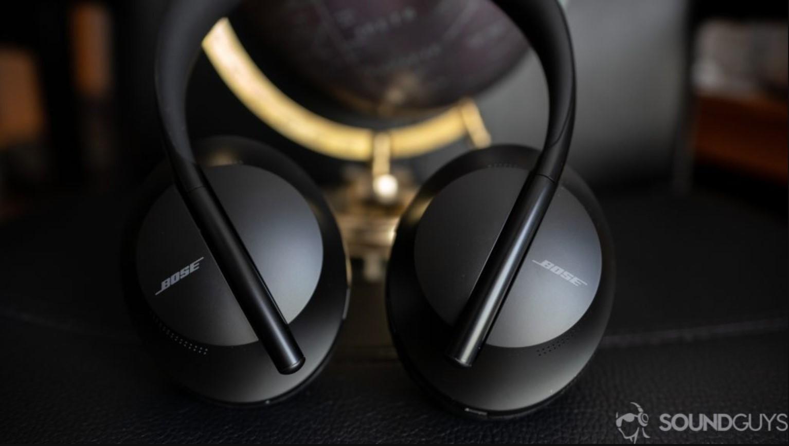 bose headphones 700 flattened