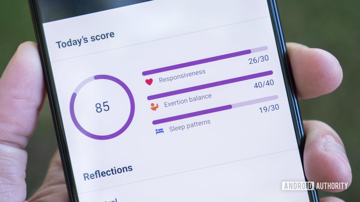 fitbit sense review fitbit app stress management score