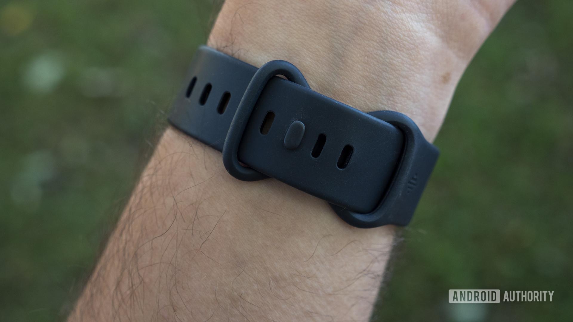fitbit sense review watch strap
