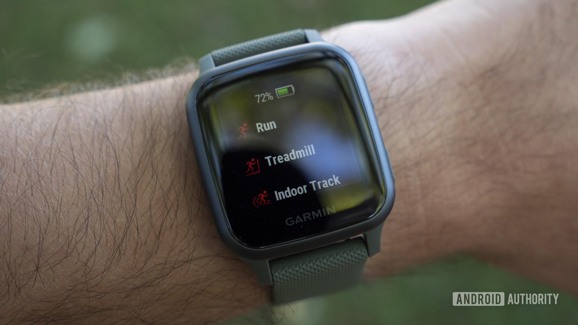 garmin venu sq review workout sport profiles run treadmill