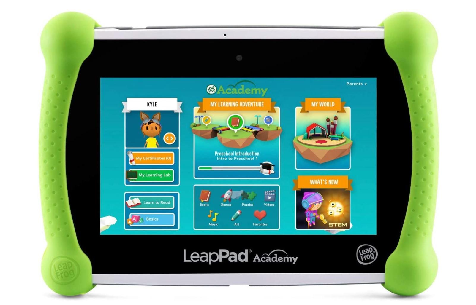 leappad academy kids tablet