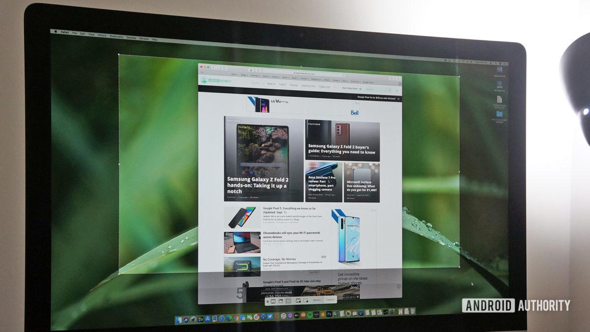mac screenshot apple imac