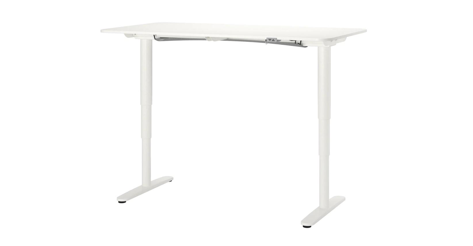 standing desk ikea bekant