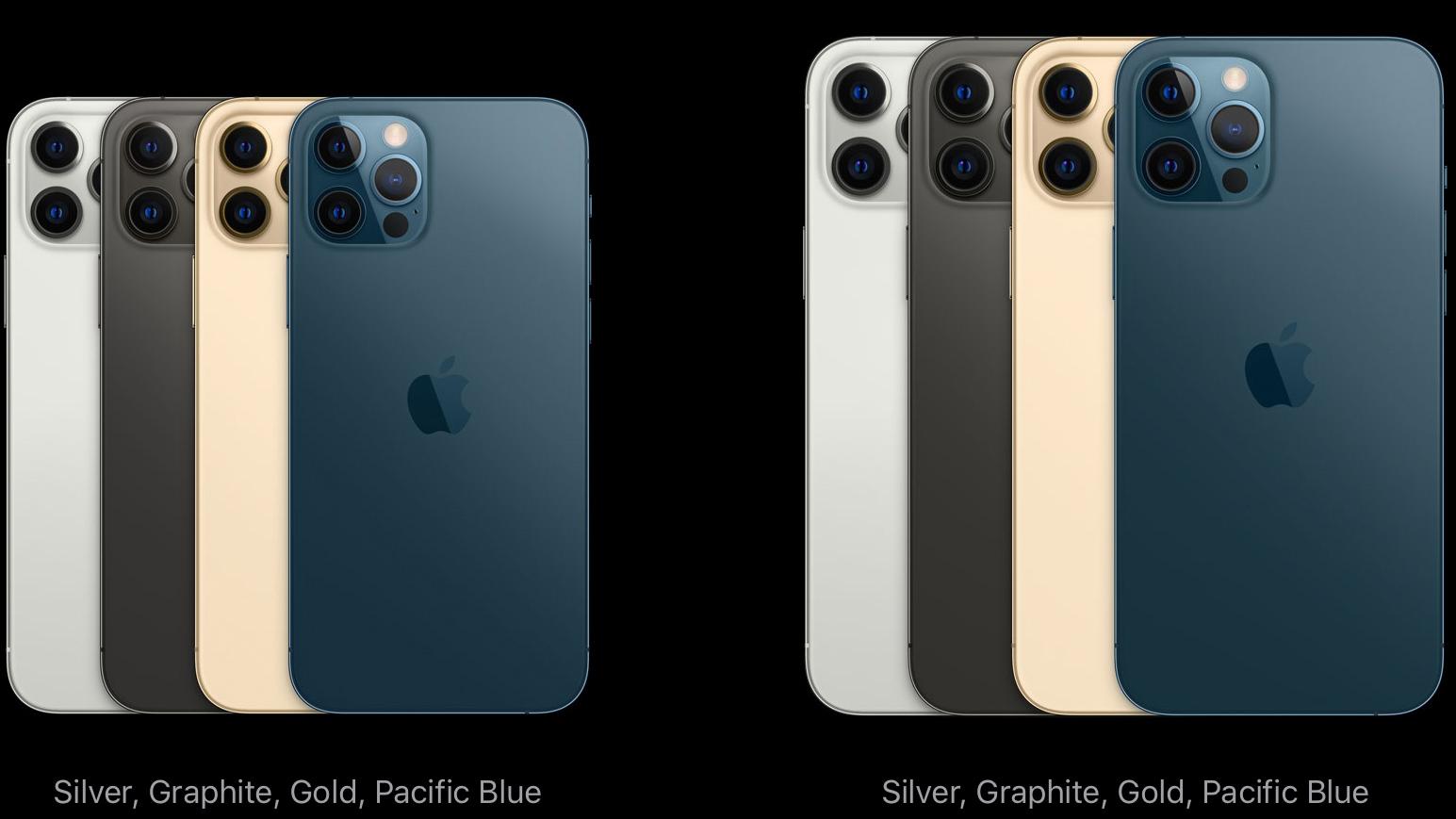 Apple iPhone 12 Pro colorways