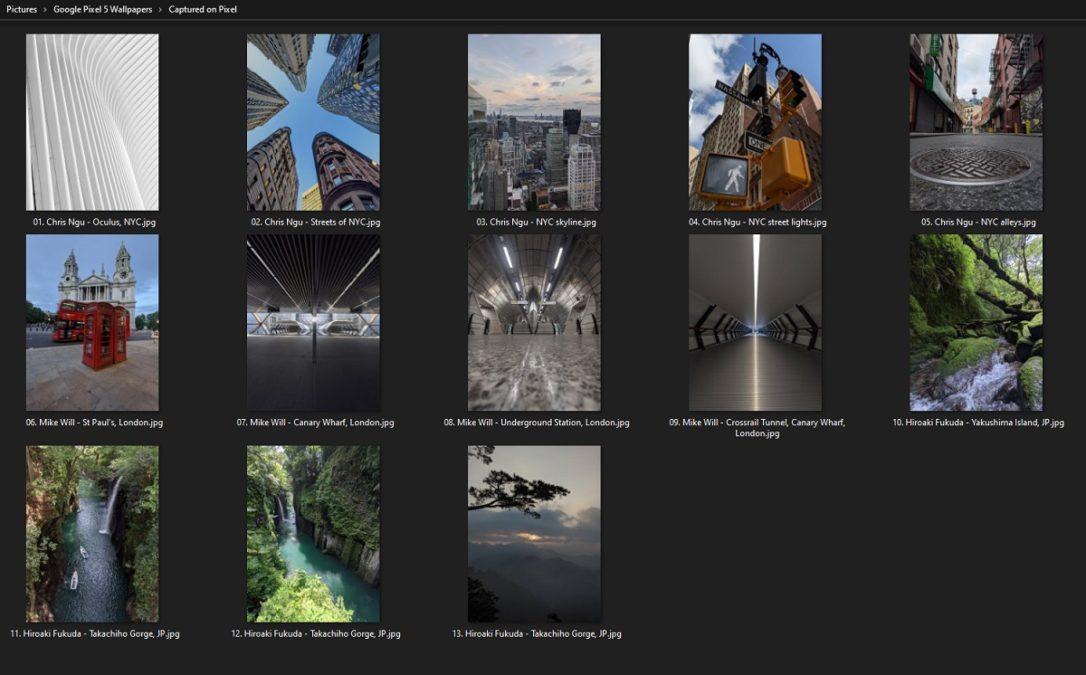 Captured on Pixel Wallpaper Preview xda