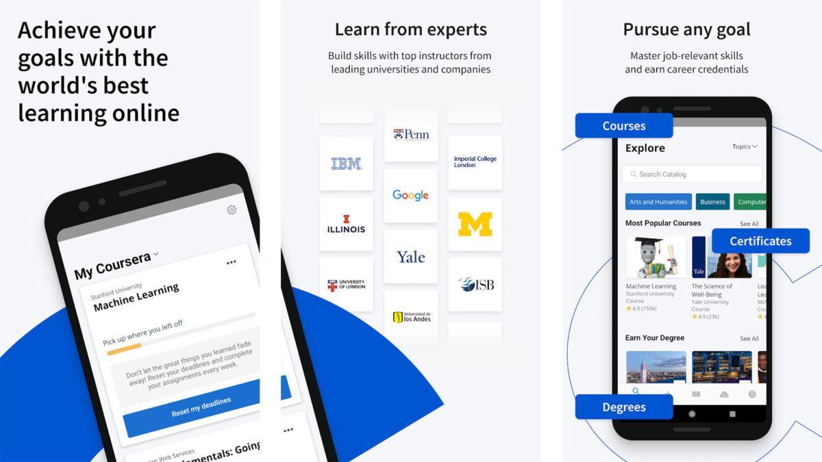 Coursera screenshot 2021