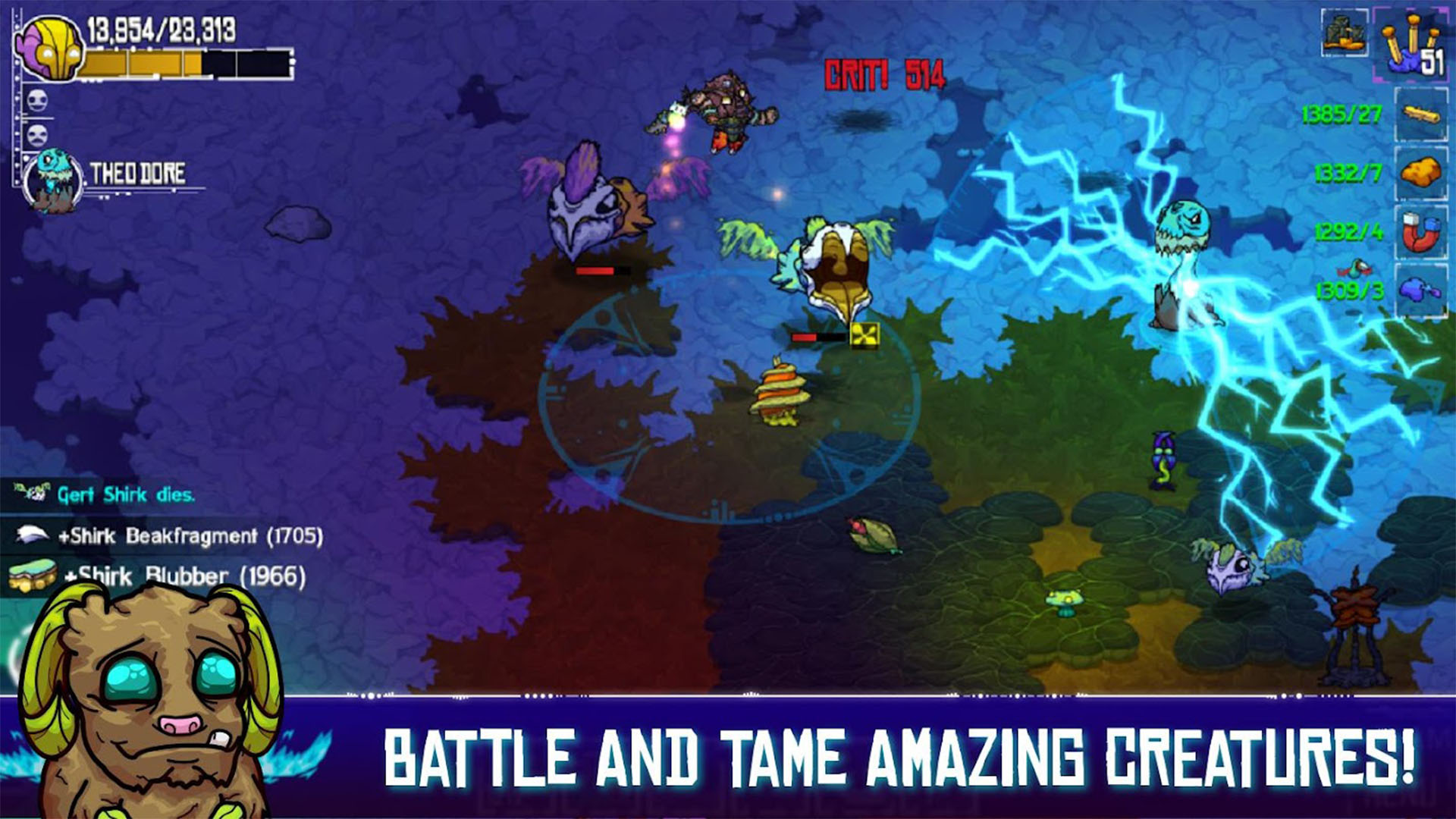 Crashlands screenshot 2021