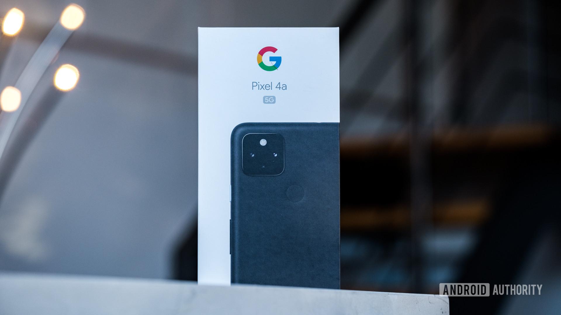 Google Pixel 4a 5G box 1