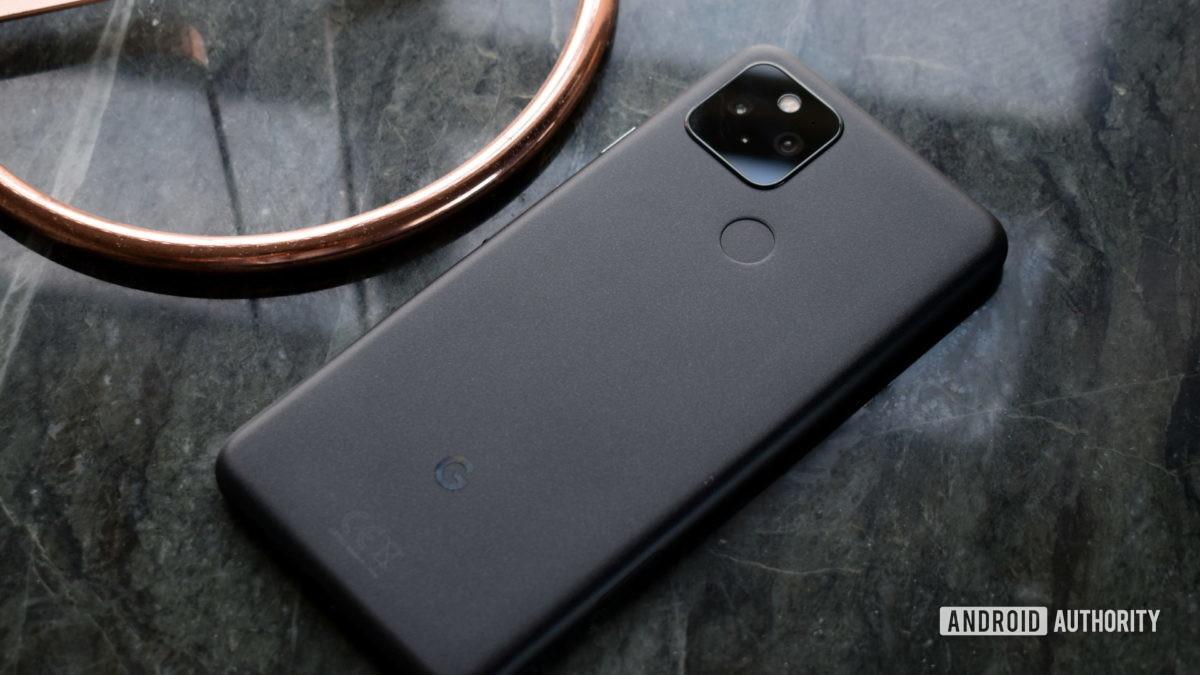 Google Pixel 5 back cover 2
