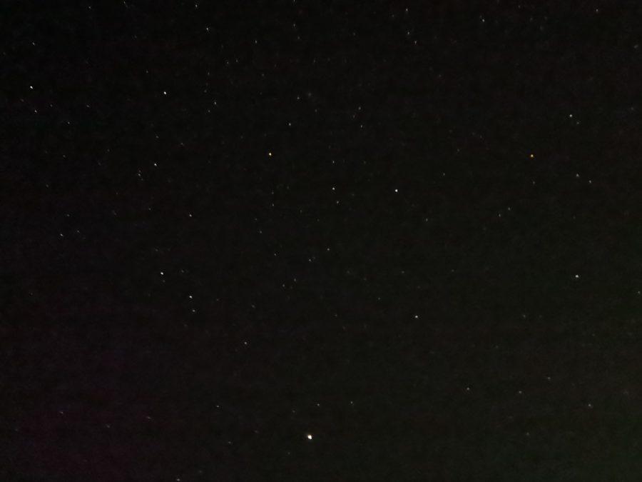 Huawei Mate 40 Pro night mode photo sample of some stars