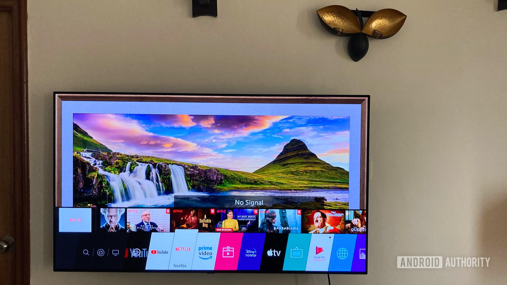 LG Web OS TV