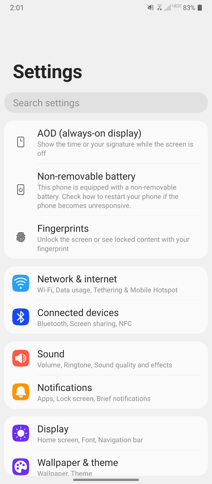 LG Wing Software Screenshots 4