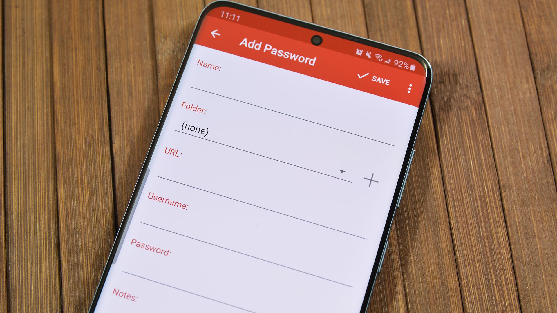 LastPass Add Password
