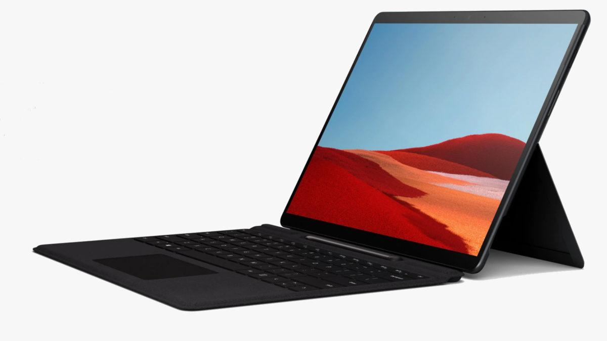 Microsoft Surface Pro X อย่างเป็นทางการ