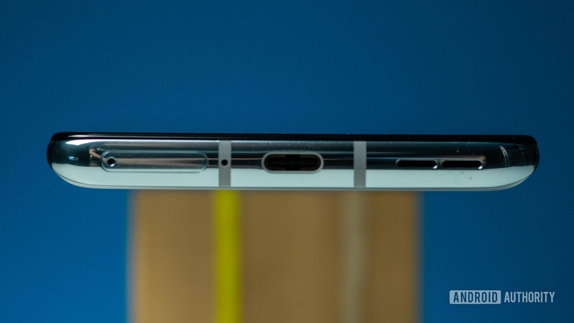 OnePlus 8T bottom view