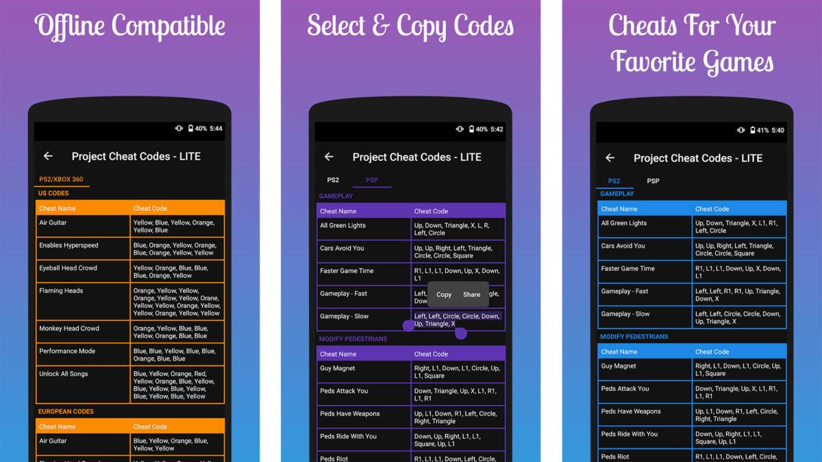 Project Cheat Code screenshot