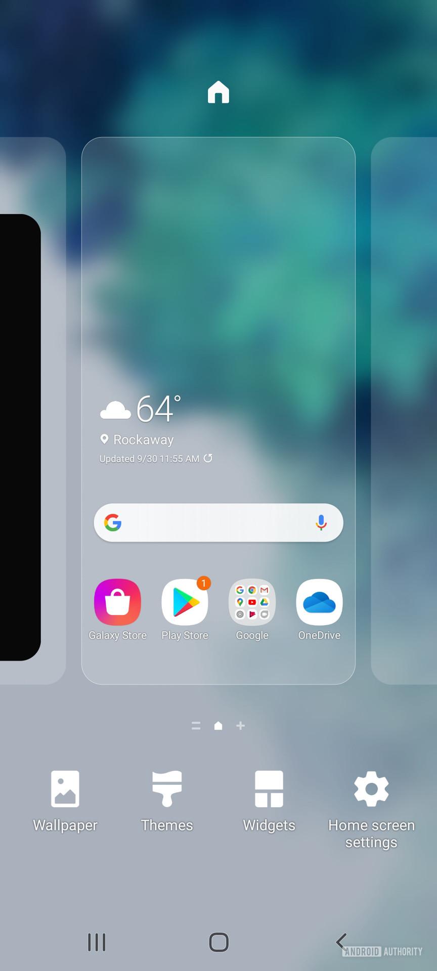 Samsung Galaxy S20 FE twaking home screens