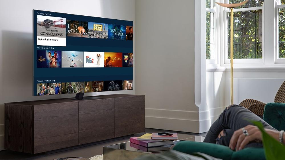 Samsung Tizen Smart TV 1