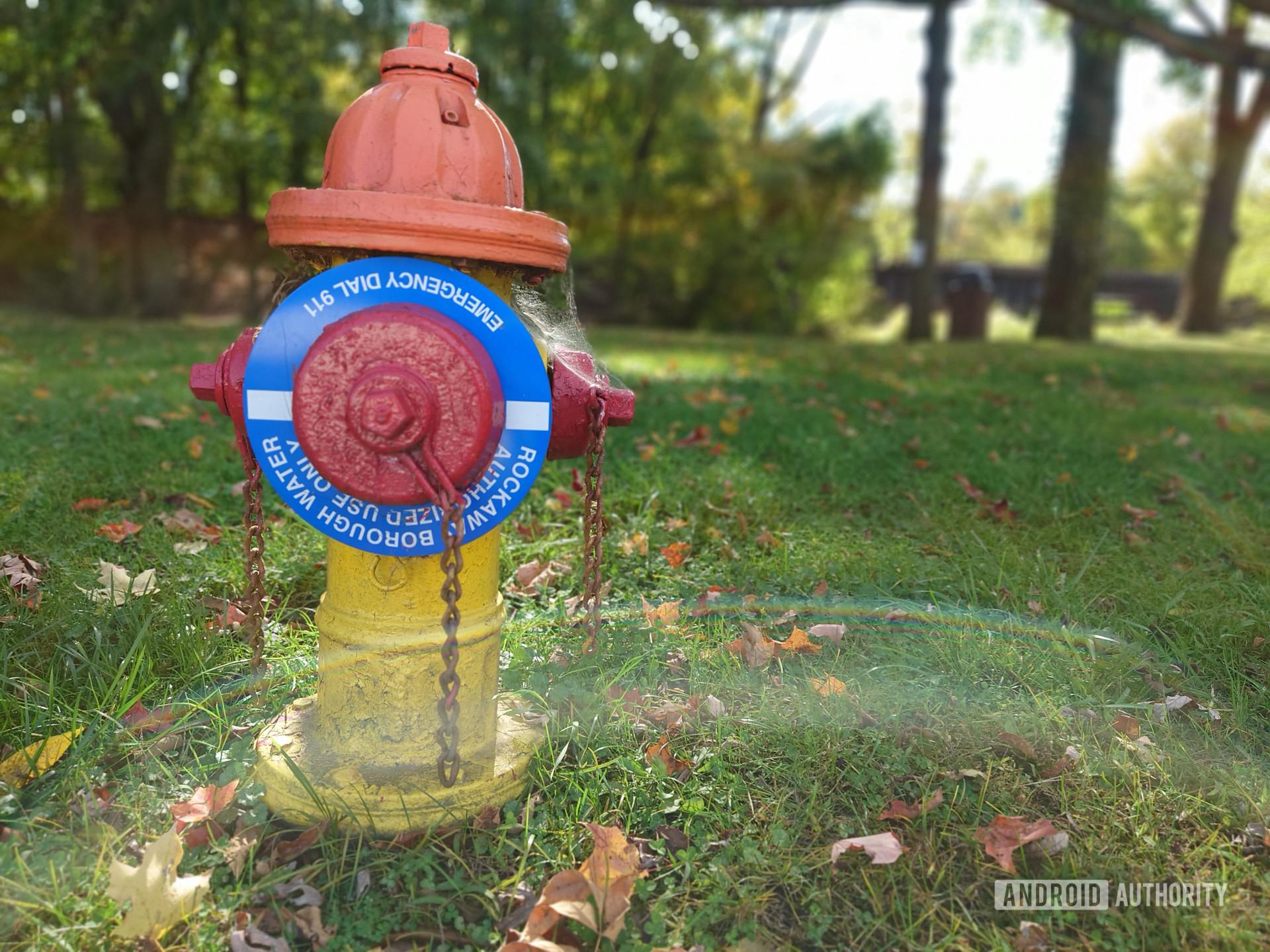 Sony Xperia 5 II photo sample hydrant