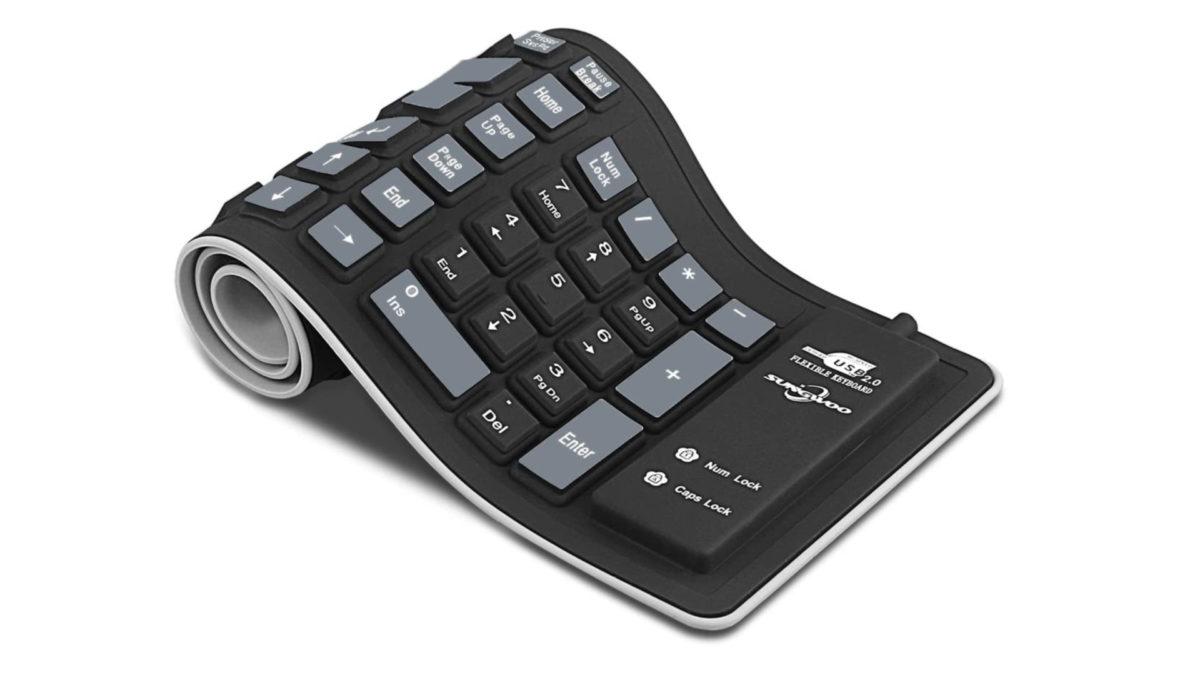 Sungwoo silicone rollup keyboard