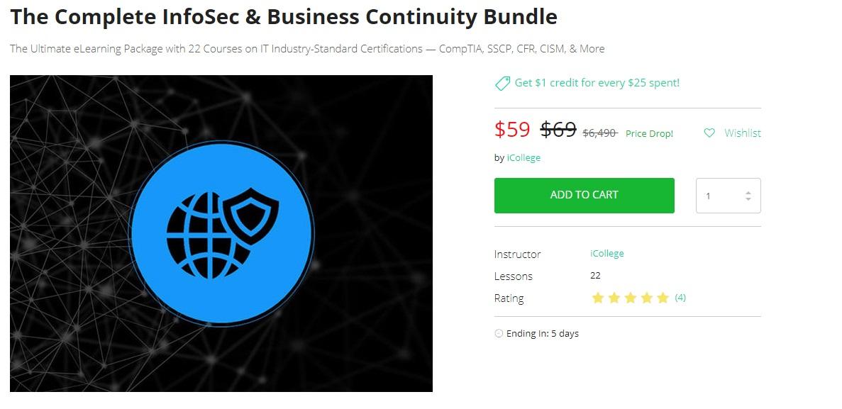 The Complete InfoSec Business Continuity Bundle