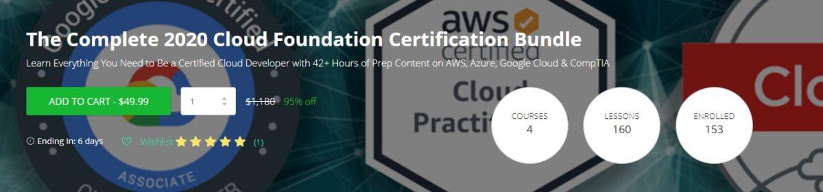 El paquete completo de certificación de Cloud Foundation 2020