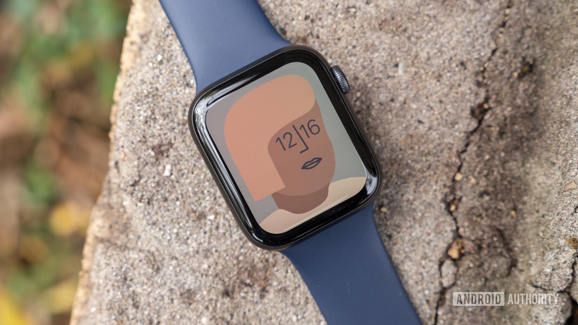apple watch series 6 review artist watch face display 1