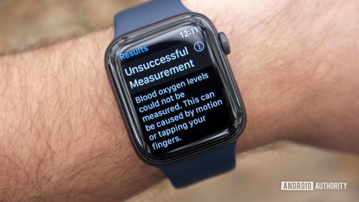 apple watch series 6 review blood oxygen unsuccessful mesaurement