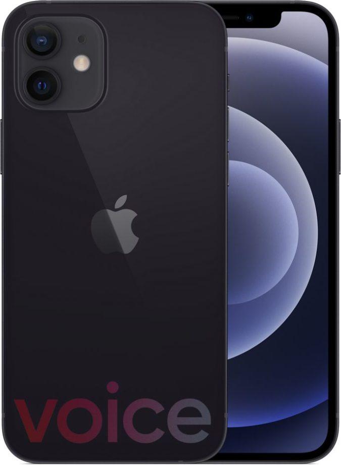 iPhone 12 black Evan Blass