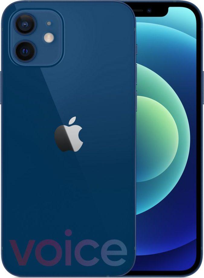 iPhone 12 blue Evan Blass