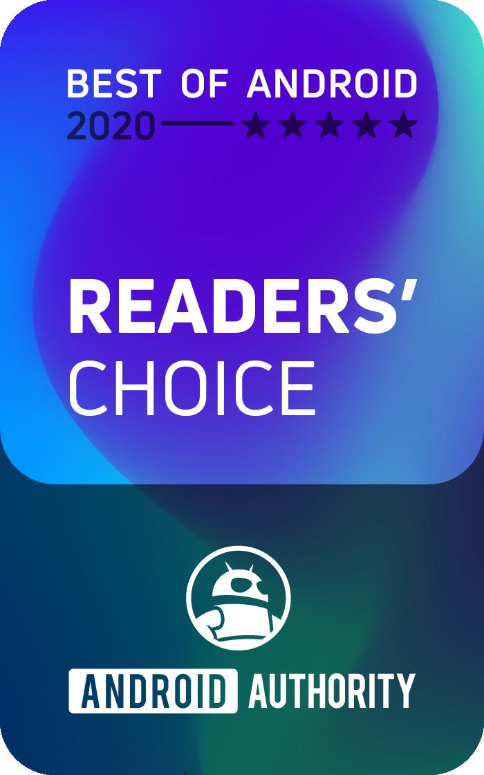 2020AA BoA Badge ReadersChoice