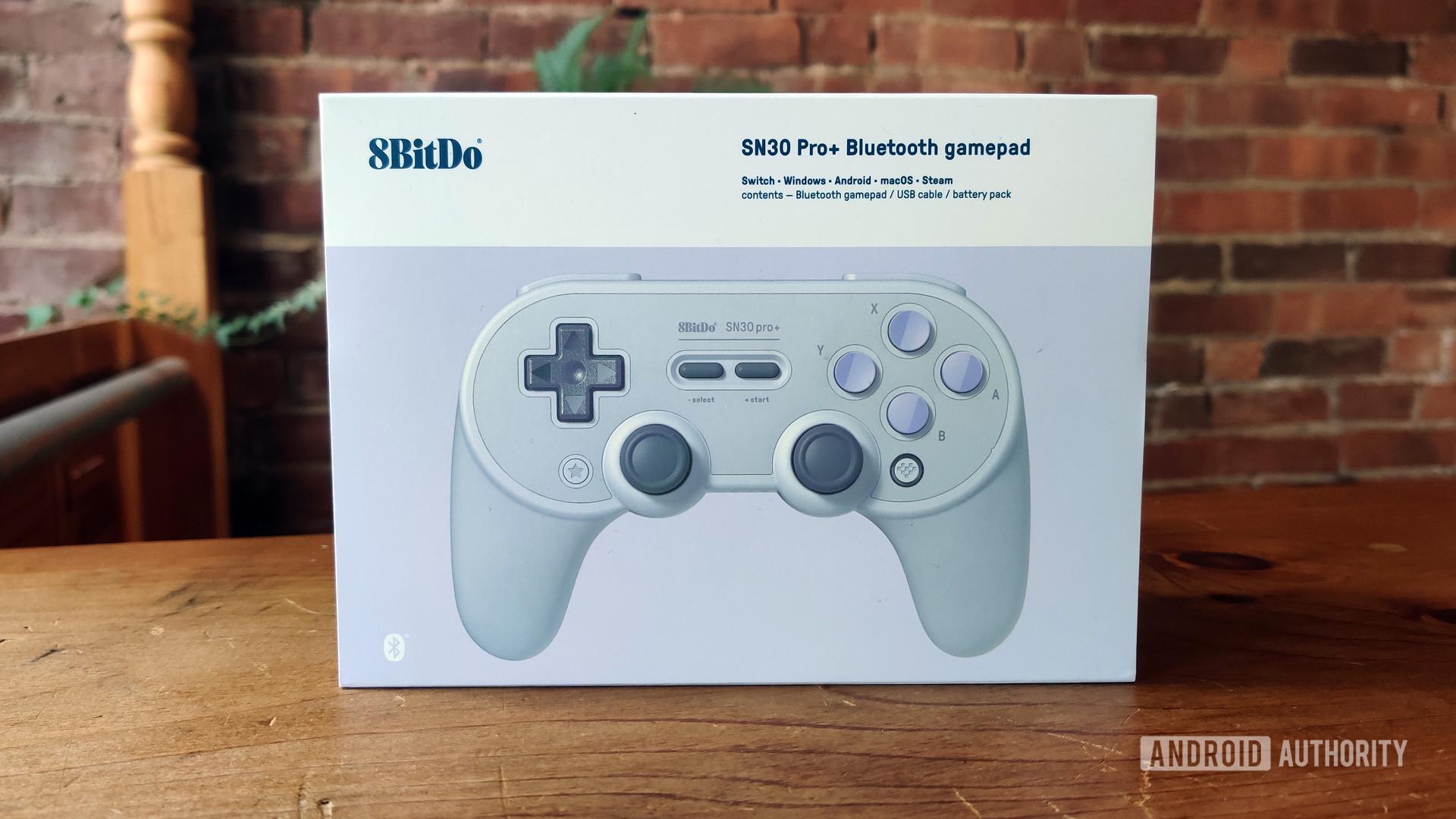 8bitdo SN30 Pro Plus Review Box