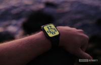 Apple Watch series 6 on arm 6
