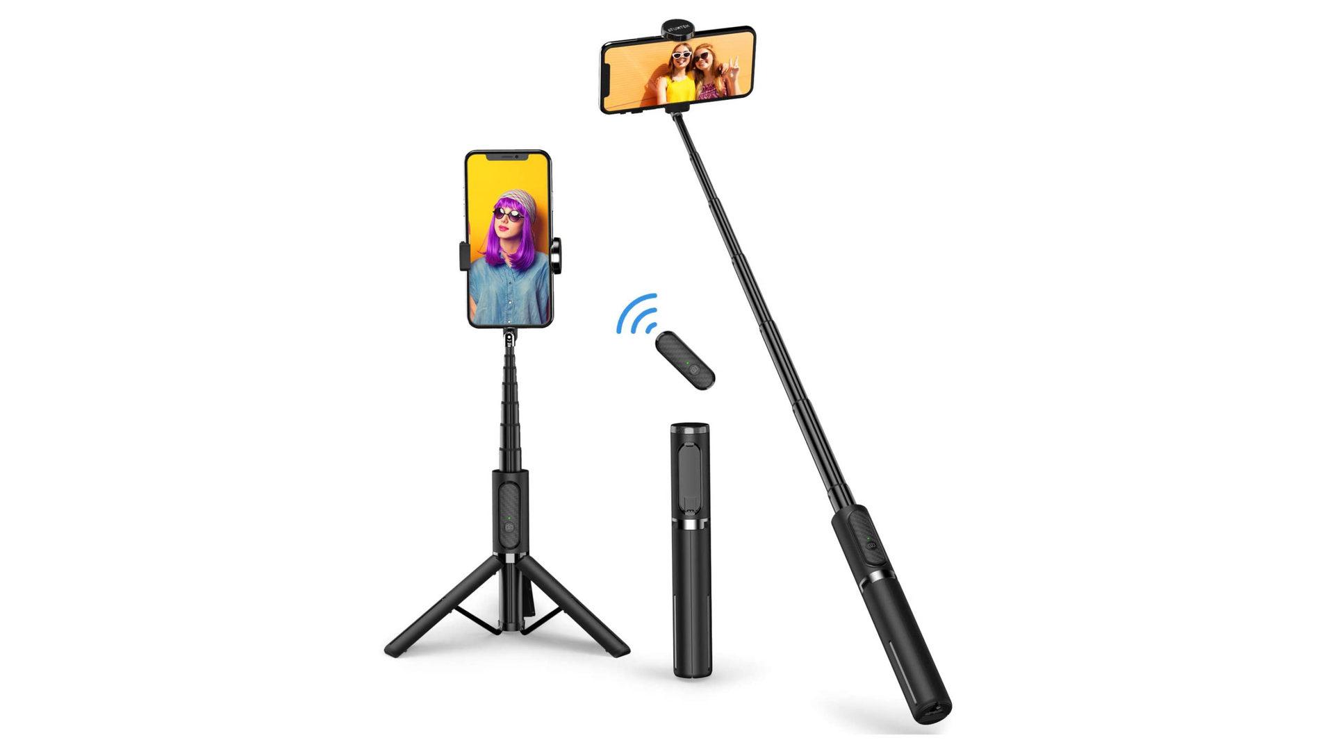 Atumtek Bluetoothj Selfie Stick Tripod