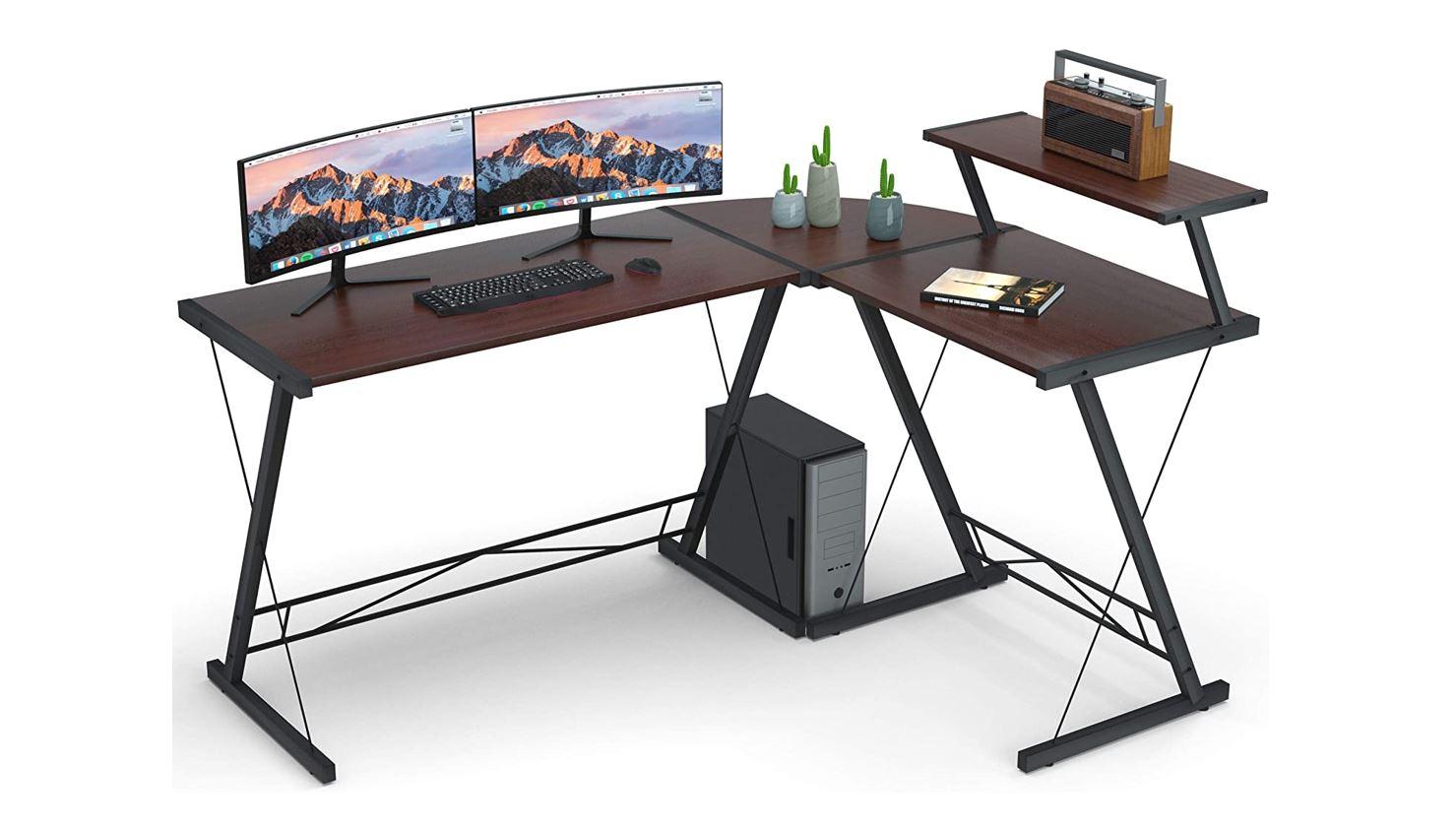 Coleshome Reversible L Shaped Desk Promo Image