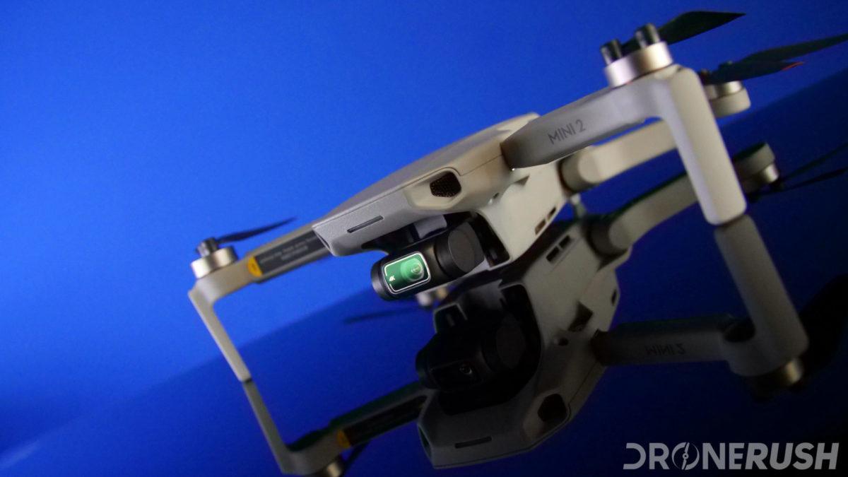 DJI Mini 2 front camera angle
