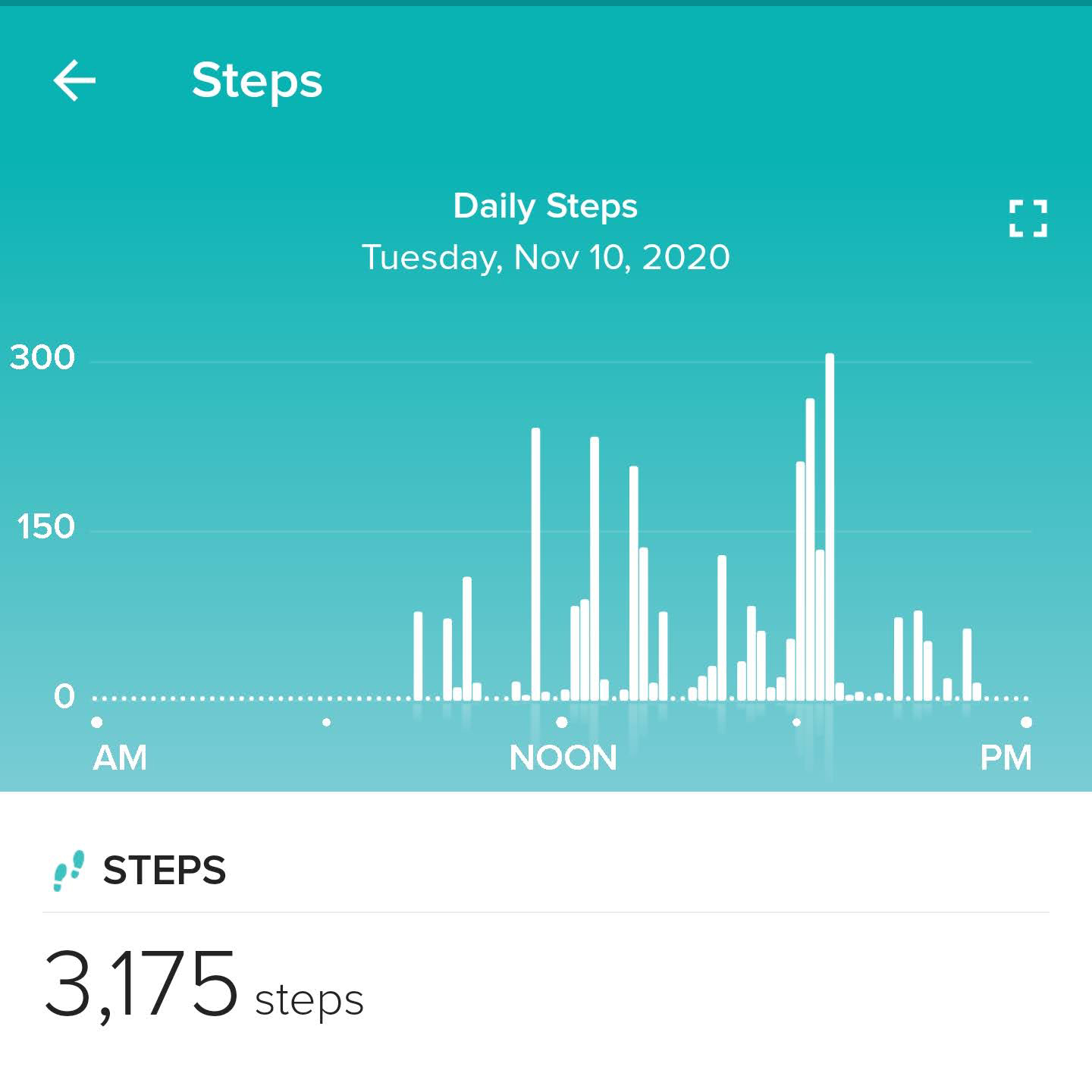 Fitbit Charge 4 Steps