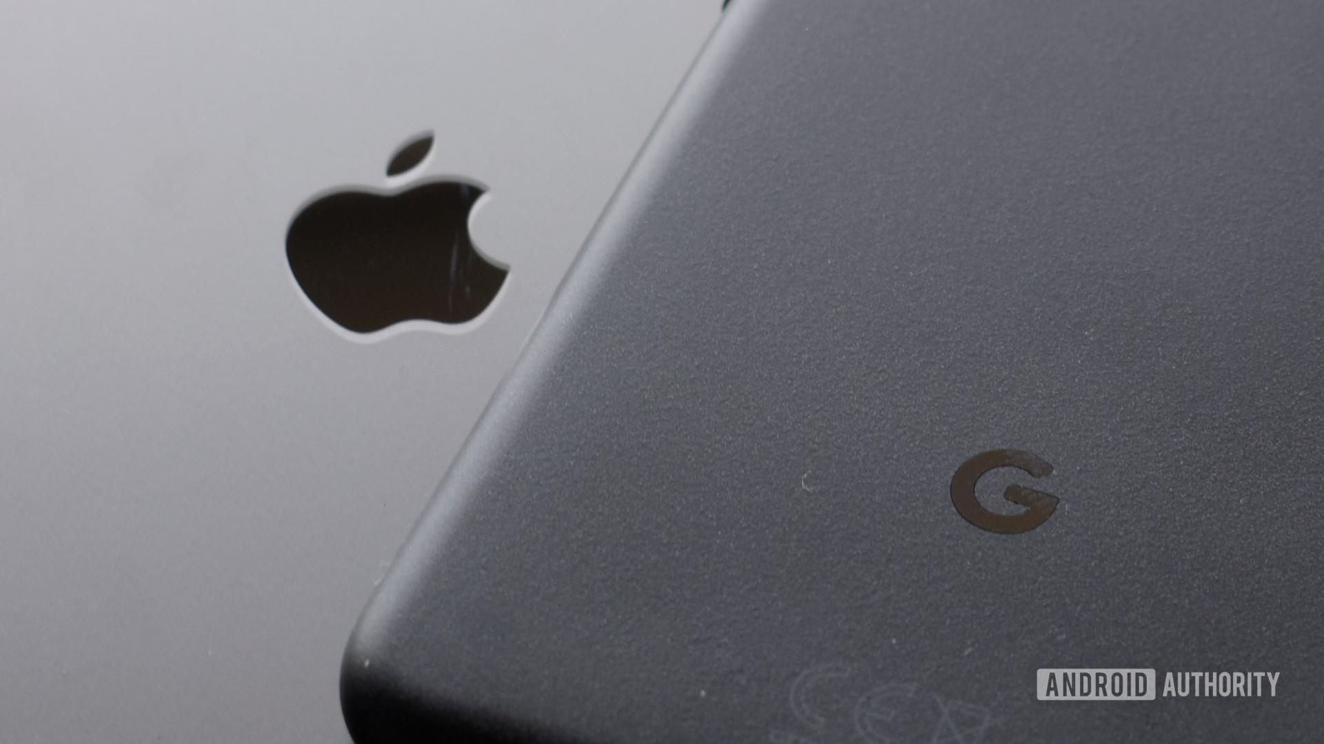 Google Apple logo EOY 2020