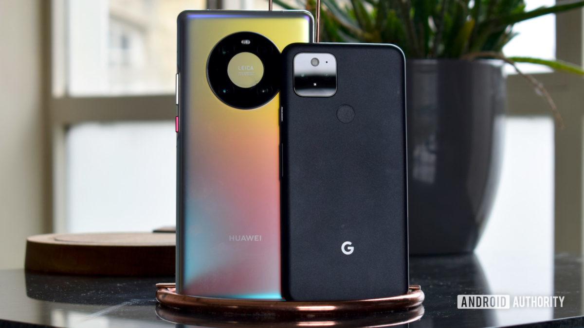 Huawei Mate 40 Pro vs Google Pixel 5 EOY 2020