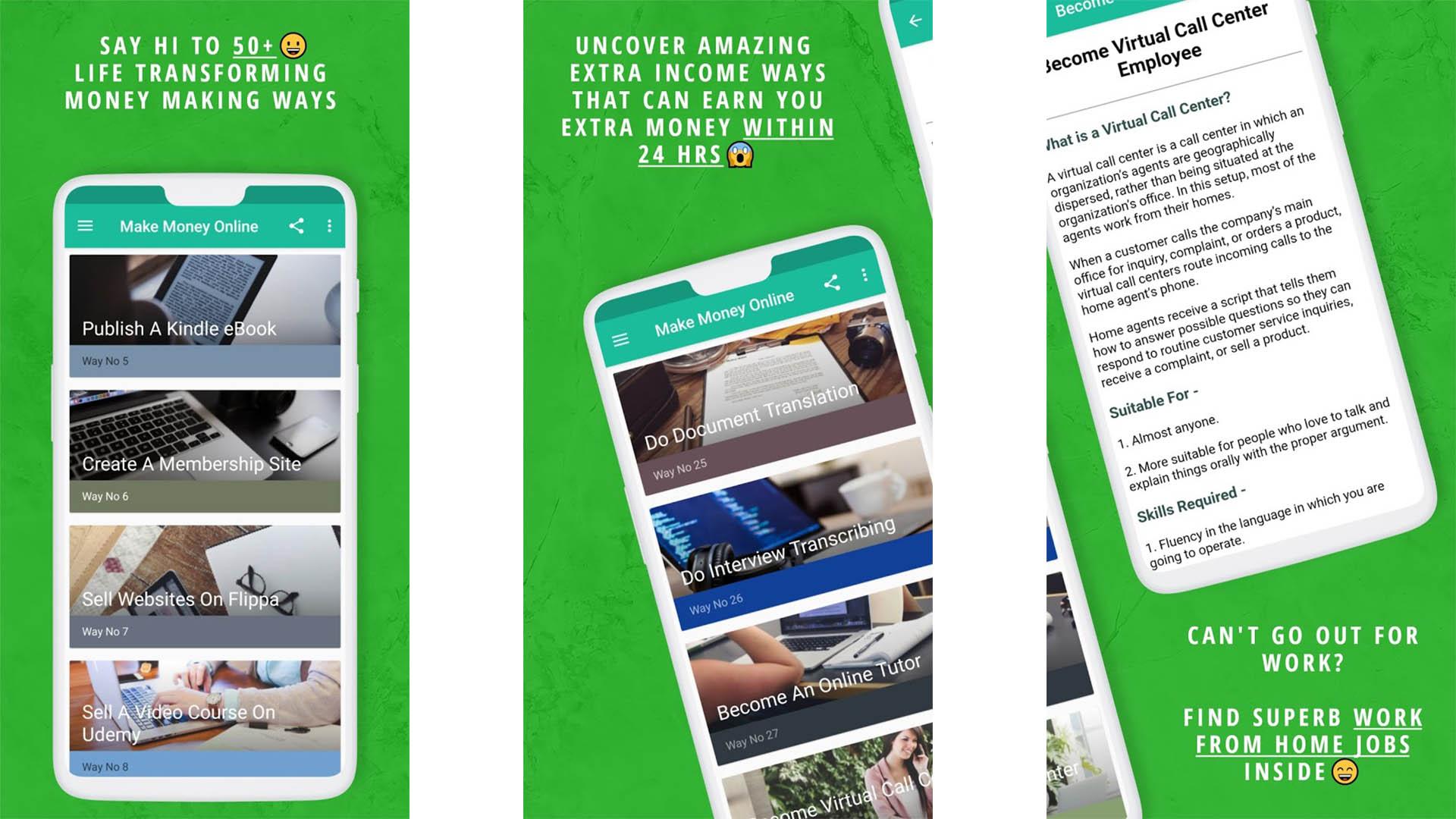 Make Money Passive Income Ideas screenshot 2021