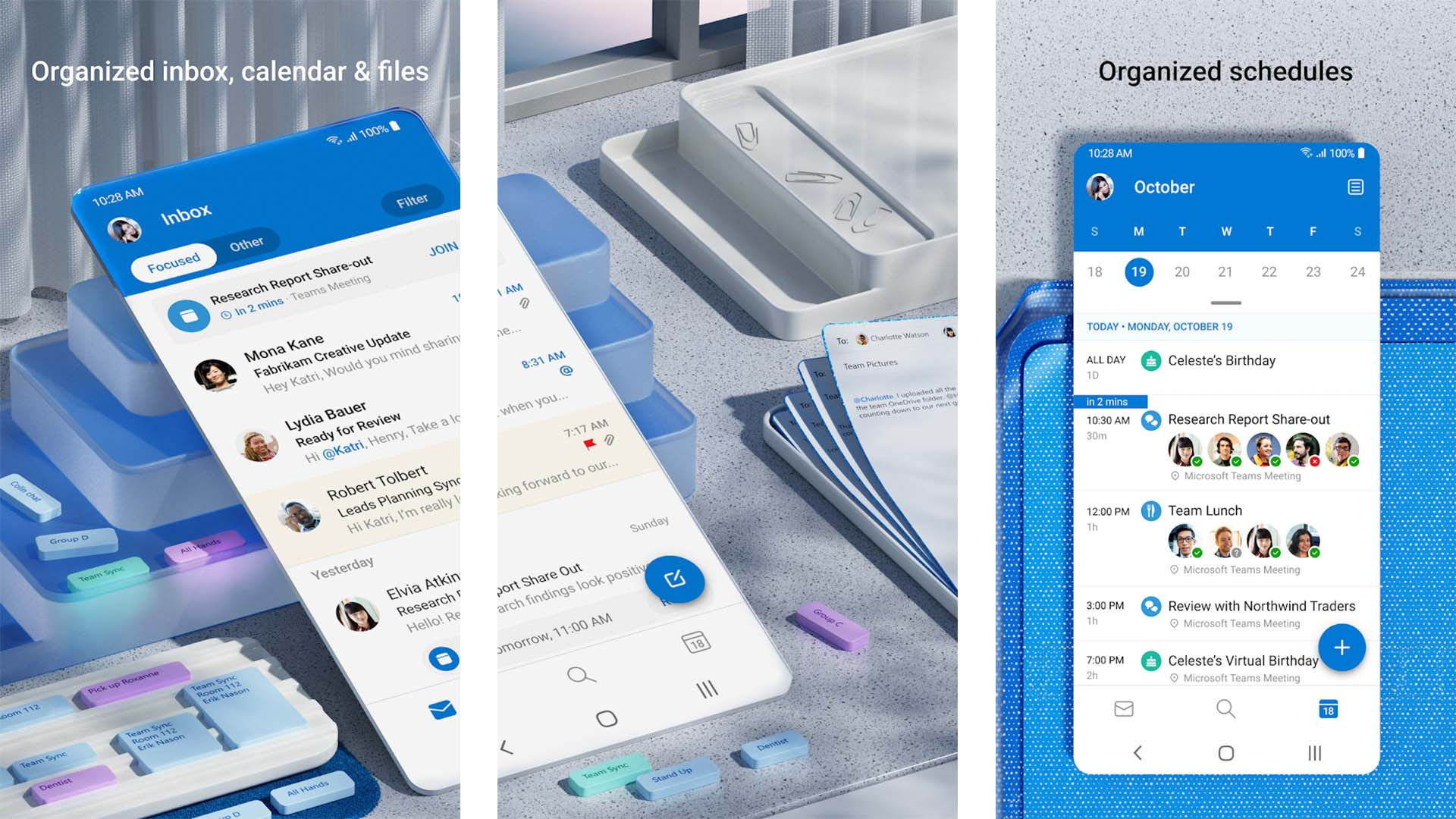 Microsoft Outlook screenshot 2021