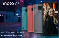 Moto E7 official image