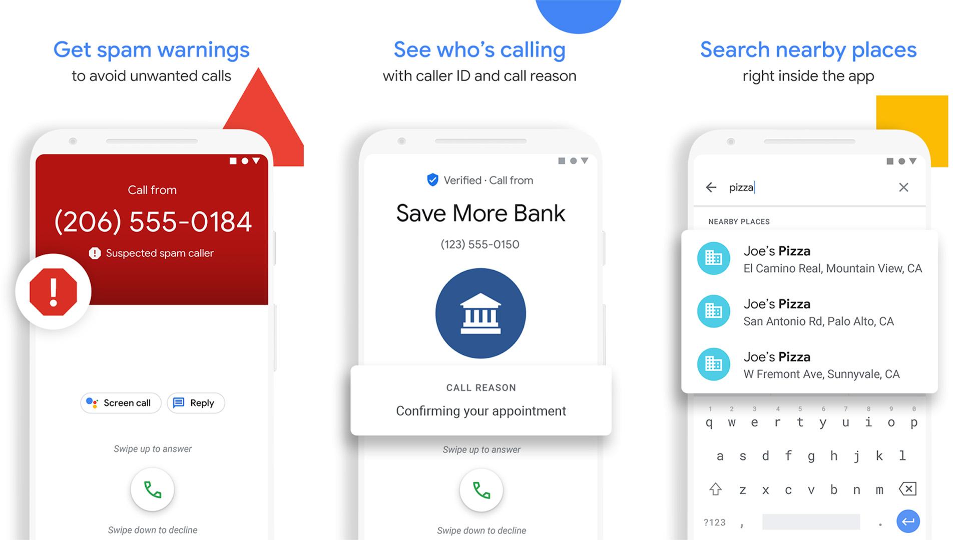 Phone by Google screenshot 2021