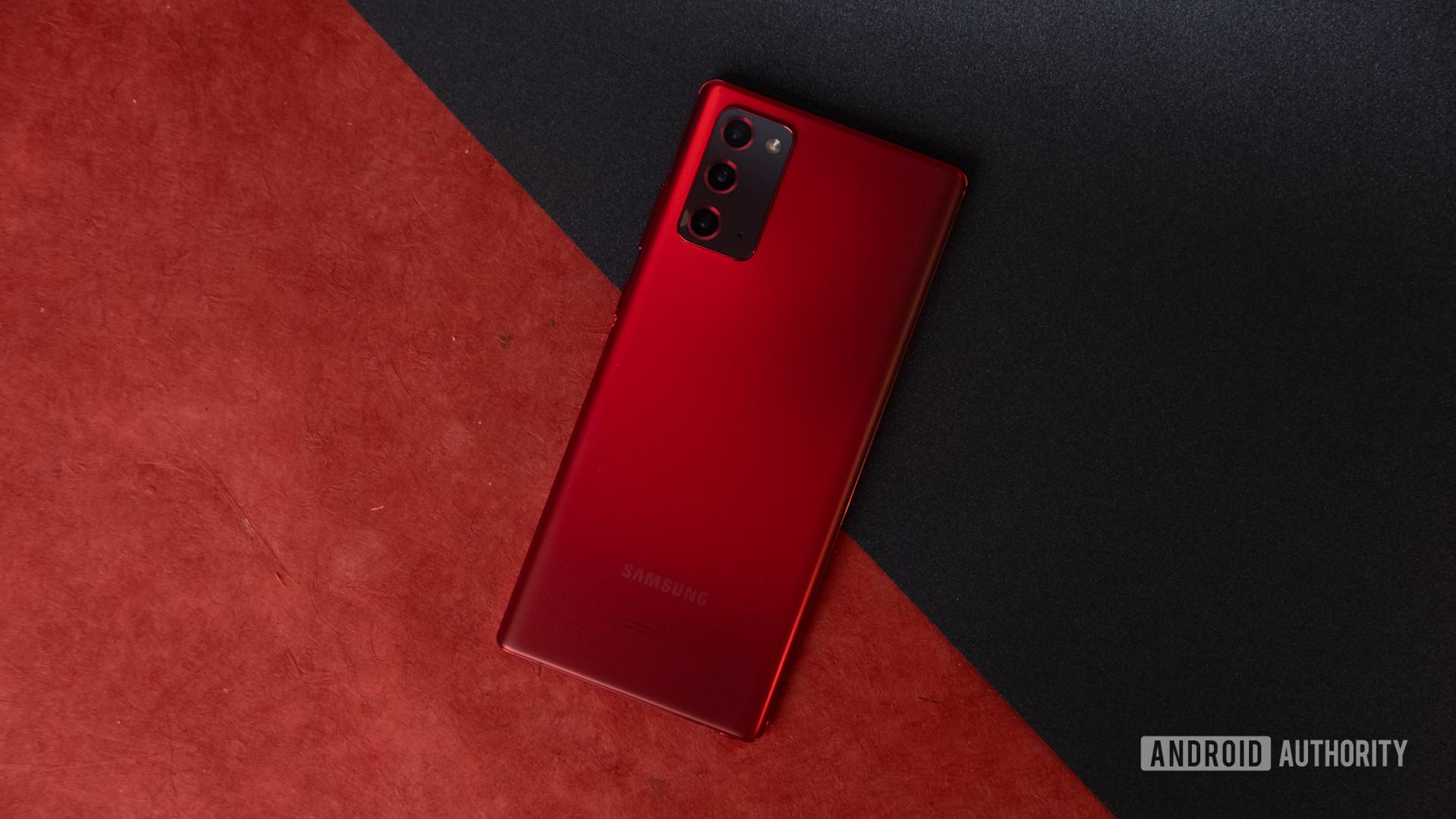 Samsung Galaxy Note 20 Red 1